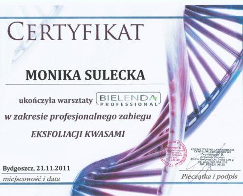 kwasy Bielenda Bydgoszcz Salon Kosmetyczny Monika Sulecka Calm Kosmetyka