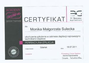 depilacja Depileve Bydgoszcz Salon Kosmetyczny Monika Sulecka Calm Kosmetyka