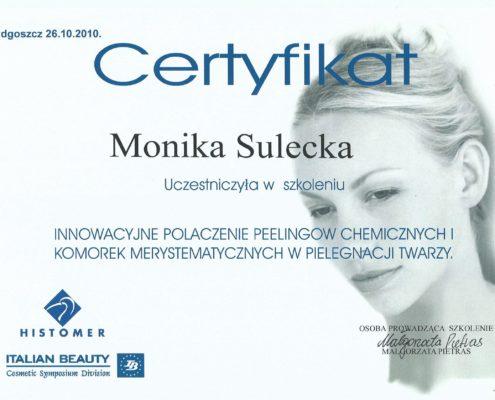 peeling chemiczny Bydgoszcz Salon Kosmetyczny Monika Sulecka Calm Kosmetyka