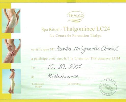 Thalgo Thalgomince LC24 Bydgoszcz Salon Kosmetyczny Monika Sulecka Calm Kosmetyka